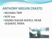 Anthony M Crasto silvassa trip nov 2011