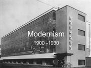 Modernism By Neha