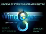 WINDOWS-8 OPERATING SYSTEM