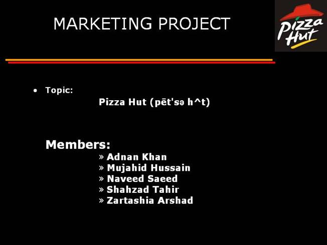 swot of pizza hut marketing essay Pizza hut malaysia e-marketing essay sample  swot analysis of pizza hut (has already been discussed above) strength: good quality food brand familiarity.