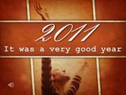 Sermon 2011-11-27-- 2011 It was a very good year-Ron Burgio