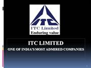 ppt. on ITC  Ltd. marketing strategy