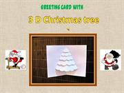 How to make a 3D-Christmas-Card