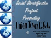 Social Stratification Project