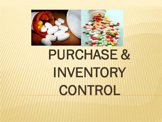 Inventory management purchasing systems ppt download.