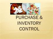 PURCHASE & INVENTORY CONTROL