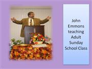 Sunday school slide presentation