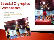 Special Olympics Gymnastics authorstream