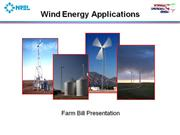 wind energy  application