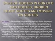 Role of Quotes in Our life