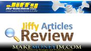 jiffy-articles Review: How to Write Unique Articles fast