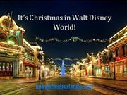 It's Christmas in Walt Disney World!