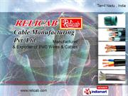 Relicab Cable Manufacturing Private Limited Maharashtra India