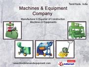 Machines and Equipment Company Tamil Nadu  India