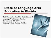 11-12-08 State of LA Education in Florid