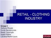 RETAIL - CLOTHING  INDUSTRY real(2)