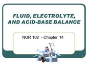 NUR 102 - Chapter 14 Fluid and Electrolytes webpage