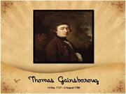 Thomas Gainsborough and His Masterpieces