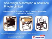 Accuweigh Automation And Solutions Private Limited Maharashtra India