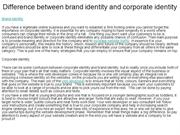 Difference between brand identity and corporate identity