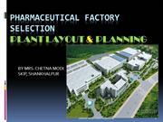 PHARMA FACTORY LAYOUT