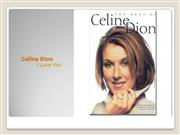 Celine Dion I Love You
