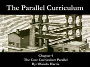 The Core Curriculum Parallel - Chapter 4