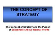 MBA 301-Strategic Analysis