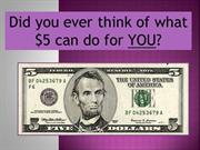 Relay For Life of Beaverton-What can $5 do?