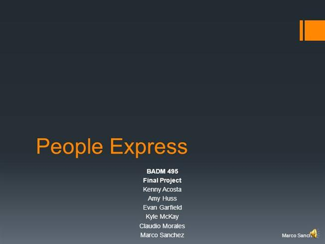People Express Powerpoint Authorstream