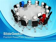 TEAMWORK MEETING FOR DISCUSSING BUSINESS TASK TEAMWORK PPT TEMPLATE