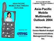 Asia-Pacific Mobile Multimedia Outlook
