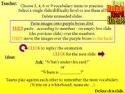 Interactive TEFL Game Template - Chase The Vocab