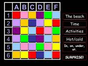 Interactive TEFL Game Template - Secret Squares