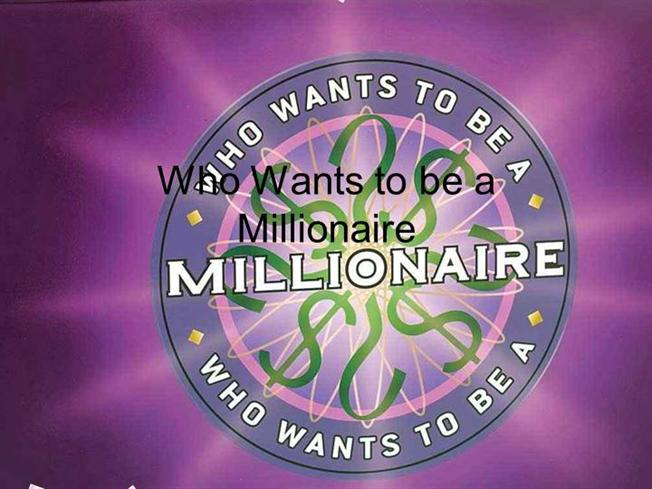 Interactive TEFL Game Template - Who Wants to be a Millionaire 1 ...