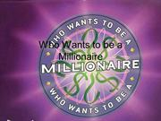 Interactive TEFL Game Template - Who Wants to be a Millionaire 1
