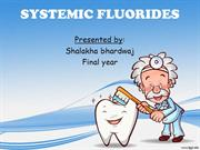 systemic fluorides