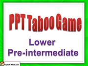 Interactive TEFL Game - Taboo