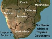 18.1 Southern Africa's Physical Geography