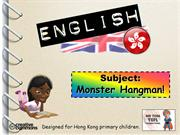 Tom's TEFL - Monster Hangman
