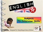 Tom's TEFL - P6 Interview Skills Workshop