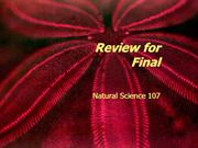 Review for Final NSC107