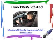 How BMW Started