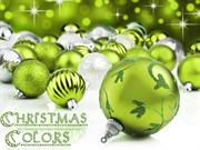 Christmas Colors (2) Green / Multicolor