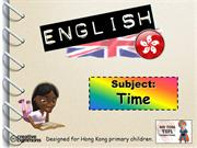 Tom's TEFL - Time & Daily Routine