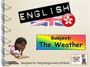 Tom's TEFL - Weather