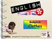 Tom's TEFL - Clothes