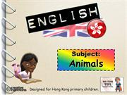 Tom's TEFL - Animals