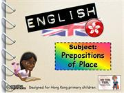 Tom's TEFL - Prepositions of Place