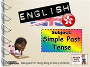 Tom's TEFL - Simple Past Tense Verbs